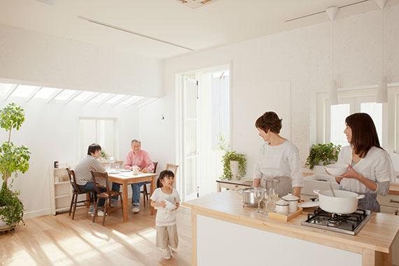 私たちが考える「住まいづくり」は単に家を建てることがゴールではありません