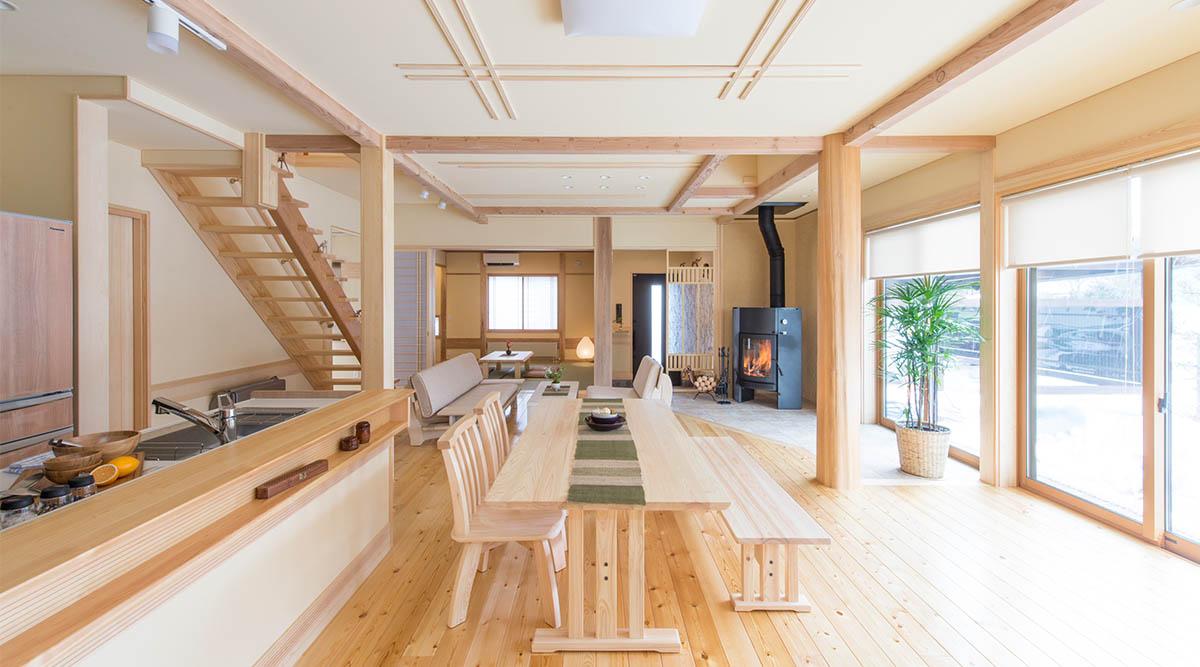 池田建設でリフォームを行ったリセット住宅