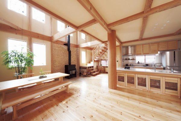 池田建設で自由設計した夢ハウスのダイニングルーム