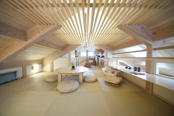 池田建設で自由設計した夢ハウスのくつろぎスペース