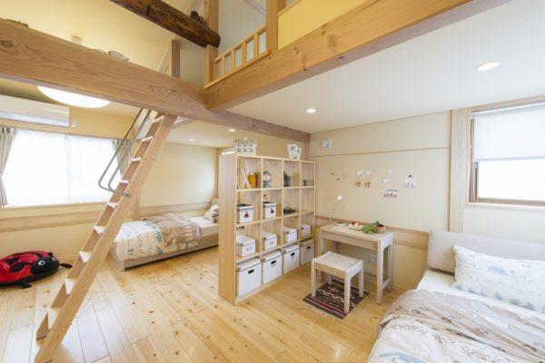 池田建設でリフォームを行ったリセット住宅のキッズルーム