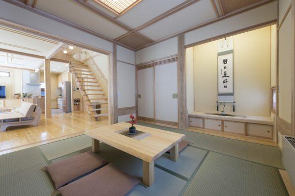 池田建設でリフォームを行ったリセット住宅の和室